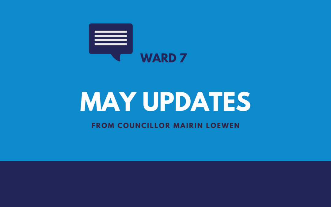 City Hall Updates for May 2021