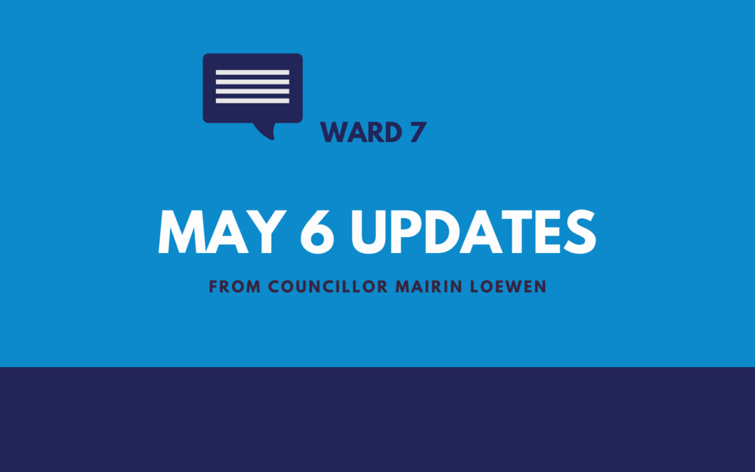 May 6 Updates